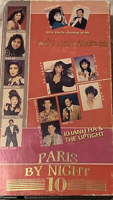 PARIS BY NIGHT 10 - Vietnamese Music VHS