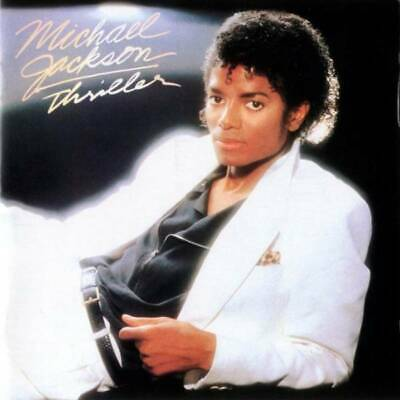 Michael Jackson: Thriller CD Album Special Edition Gold Disc +Bonus Material