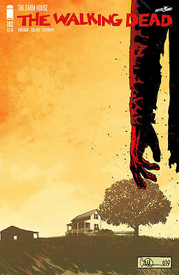 WALKING DEAD ISSUE 193 - SOLD OUT FIRST 1st PRINT - FINAL ISSUE IMAGE COMICS