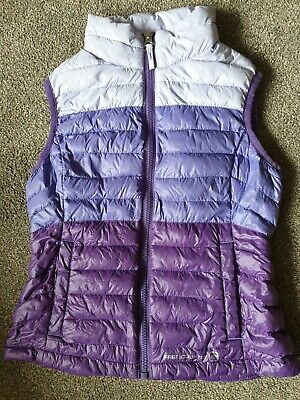 Girls Purple Light Weight Gillet Age 7-8 Years