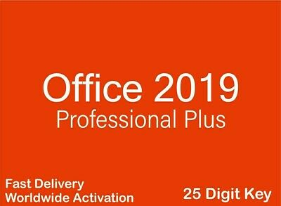Microsoft Office 2019 Professional Plus Genuine Key + MS Site Direct Download