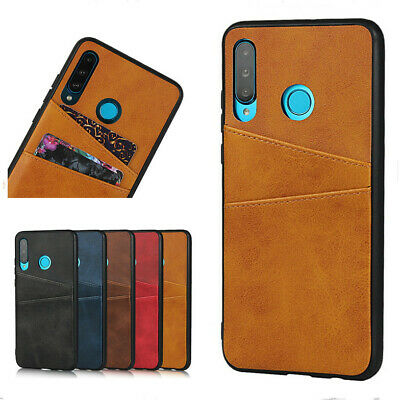 For Huawei P20 P30 Pro/Lite Leather Wallet Case Card Slot Pocket Holder Cover