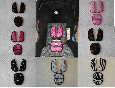 Baby Straps & Crotch cover fit maxi cosi cabriofix car seat shoulder Belt Pads