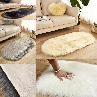 Large Shaggy Floor Rug Plain Soft Sparkle Area Mat Thick Pile Glitter Foldab