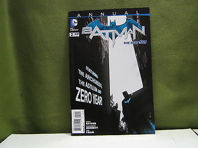 Batman (2011) Annual 2 Dc Comics New 52 Scott Snyder Zero Year