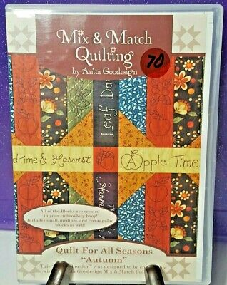 Asian Quilt Anita Goodesign Embroidery Machine Design CD NEW 136AGHD