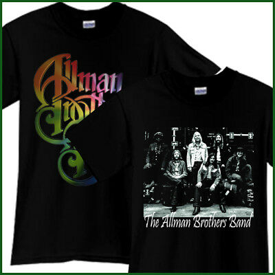 THE ALLMAN BROTHERS Rock Band Tribute Song CD Music Black T-Shirt TShirt Tee