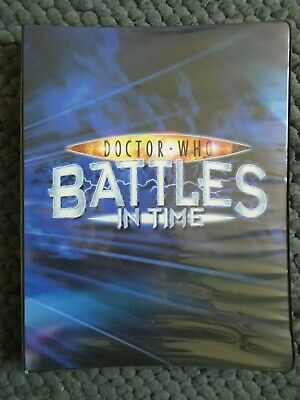 Large Dr Who Battles In Time Card Album + 254/275 Battle  & 68/100 Annihilator