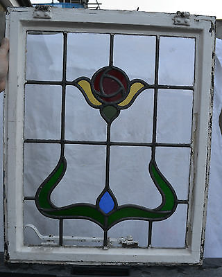 Leaded light stained glass window. R249b. NATIONWIDE DELIVERY!