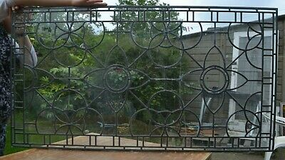 Leaded light (to compliment stained glass) window panel. R826a. DELIVERY OPTION