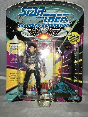 Romulan 1st Series 92 Playmates Star Trek TNG Next Gen Sealed Mint Action Figure