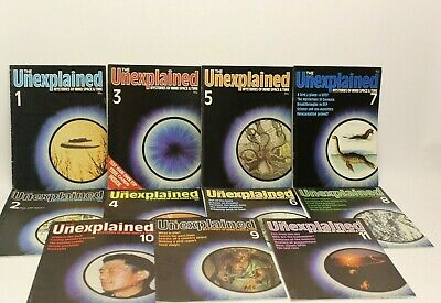 The Unexplained Mysteries of Mind Space and Time Magazines Bundle x64 magazines