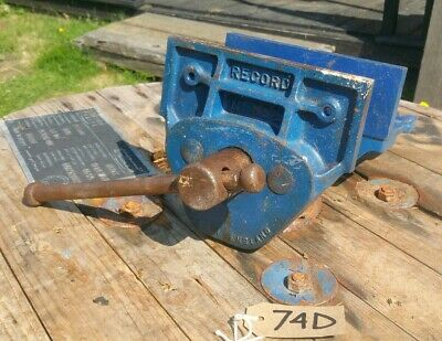 Record No.52 E Carpenters Joiners Woodworking Vice [74D]