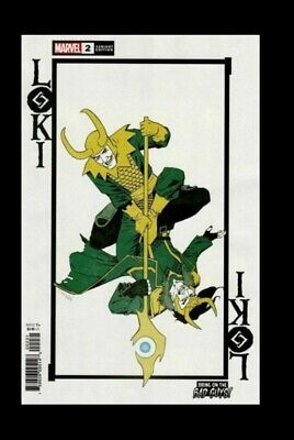 Marvel Comics Loki #2 Vol. 3 2019 NM Declan Shalvey -Variant