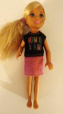 "2015 Barbie's Sister in a Puppy Chase Chelsea ""Mermaid at Heart"" Doll"