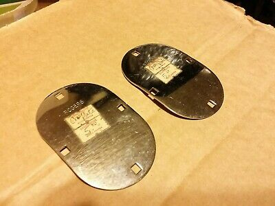 2 Rare Vintage Rogers 1960S Swivomatic Bracket Cover Plates Bass Drum Nos
