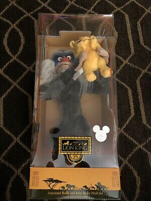 2019 D23 Expo The Lion King 25 Years Anniversary Rafiki and Simba Set