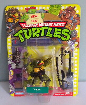 Ban Dai 1989 Teenage Mutant Ninja Turtles TMNT Tokka Figure MOC Playmates