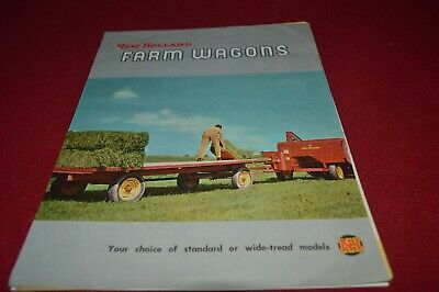 New Holland Farm Wagon Dealer's Brochure AMIL15