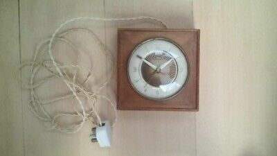 SMITHS ANTIQUE CLOCK 1930s SECTRIC ELECTRIC 4 RESTORATION untested sold as seen