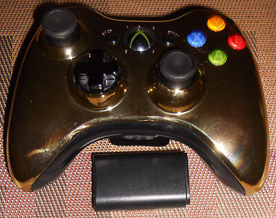 OEM Wireless Gamepad Controller Golden for Microsoft Xbox 360 and PC TESTED!