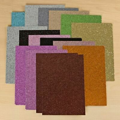 Create and Craft A4 Glitter Card Pack of 30 NEW SEALED