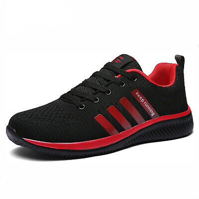 Men's Sneakers Breathable Running Tennis Athletic Walking Trainer Shoes Gym 13