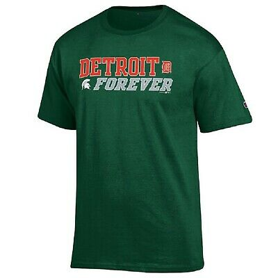 Champion MLB/NCAA Detroit Tigers Michigan State Spartans Men's Combo T-Shirt