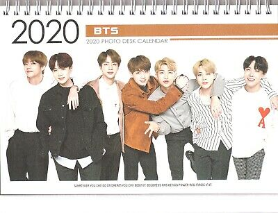 BTS Bangtan Boys KPOP Photo Desk Calendar 2020 & 2021 (NEW)
