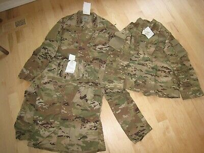 US Army Multicam OCP Combat Jacket / Coat, Med Reg, Flame Resistant/Insect Guard