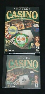 Hoyle Casino PC 2003 Game - Box and, Case & Game Only - Working