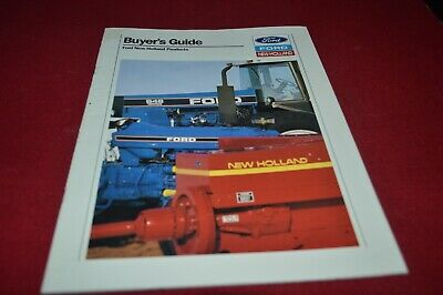 New Holland Buyers Guide For 1990 Dealer's Brochure AMIL15