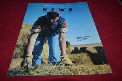 New Holland News June July 1984 Dealer's Brochure AMIL15
