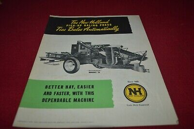 New Holland 76 Baling Press Baler Dealer's Brochure AMIL15