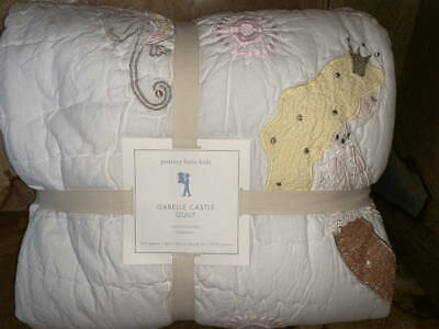 Cool Pottery Barn Kids Isabelle Castle Mermaid Quilted Standard Machost Co Dining Chair Design Ideas Machostcouk