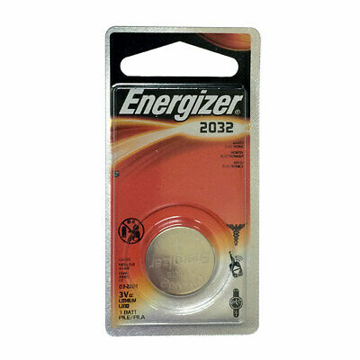 Energizer CR 2032 Coin Cell 3 Volt Battery