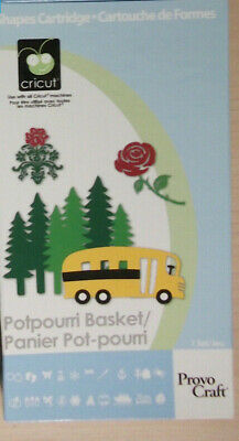 Potpurri Basket - Cricut / Provo craft cartridge