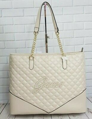 Guess pink purse cream and 29 similar items