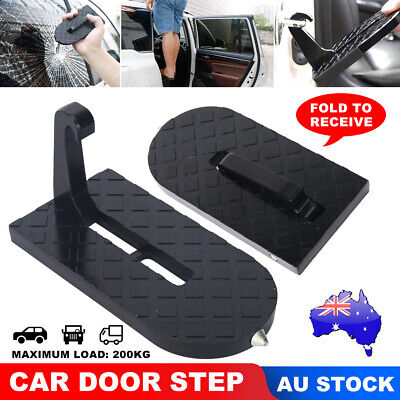 Vehicle Latch Access Roof Of Car Door Give U a Step To Easily Rooftop Doorstep