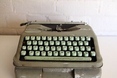 Hermes Baby Typewriter with Original Case - Excellent Quality - Swiss Made