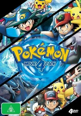Pokemon Movie (DVD, 2009, 4-Disc Set) - missing one disk see the 2nd photo