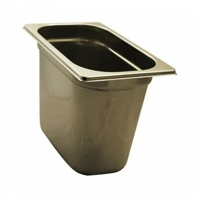 Pan Gastronorm Containers Stainless Steel Gn 1/4 Height 20 CM
