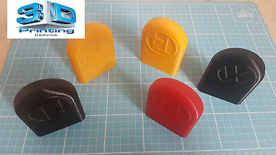 VW T4 Tow Eye Cover-3D printed ABS BLACK or COLOUR