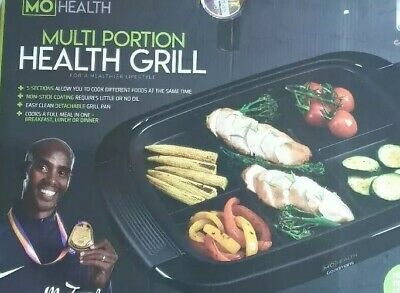 Mo Health Multi Portion Health Grill New And Boxed