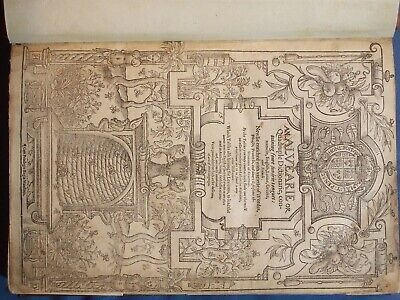 Book ***Cd*** 1580 Dictionary Barets Alvearie I Photographed Mine Latin French