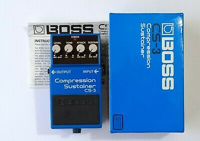 Boss CS-3 Compression Sustainer - boxed with instructions * * * FREE P&P