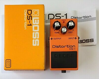 Boss DS-1 Distortion - boxed with instructions * * * FREE P&P