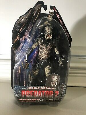 NECA Predators 2010 Movie Series 4 Action Figure Shaman Predator CASE FRESH