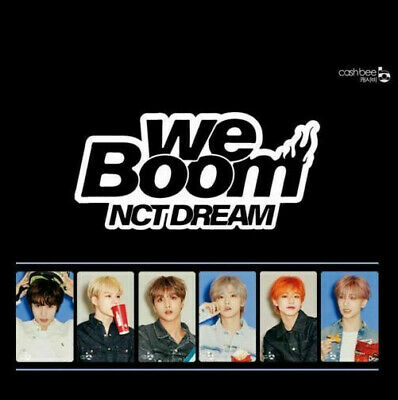 NCT Dream We Boom CASHBEE Photo card SM TOWN Official Goods CASH BEE JENO JAEMIN