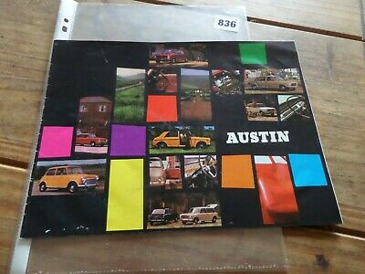Austin Mini 1100 1800 3 Ltr Etc  Sales Brochure 1970/71  Classic Cars Barn Find